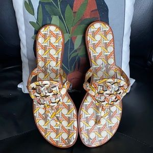 Miller Sandals by Tory Burch, in a geo print!